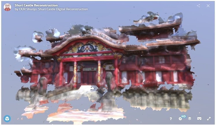 「我們的首里城」計畫(OUR Shurijo),希望透過募集100萬張首里城照片...