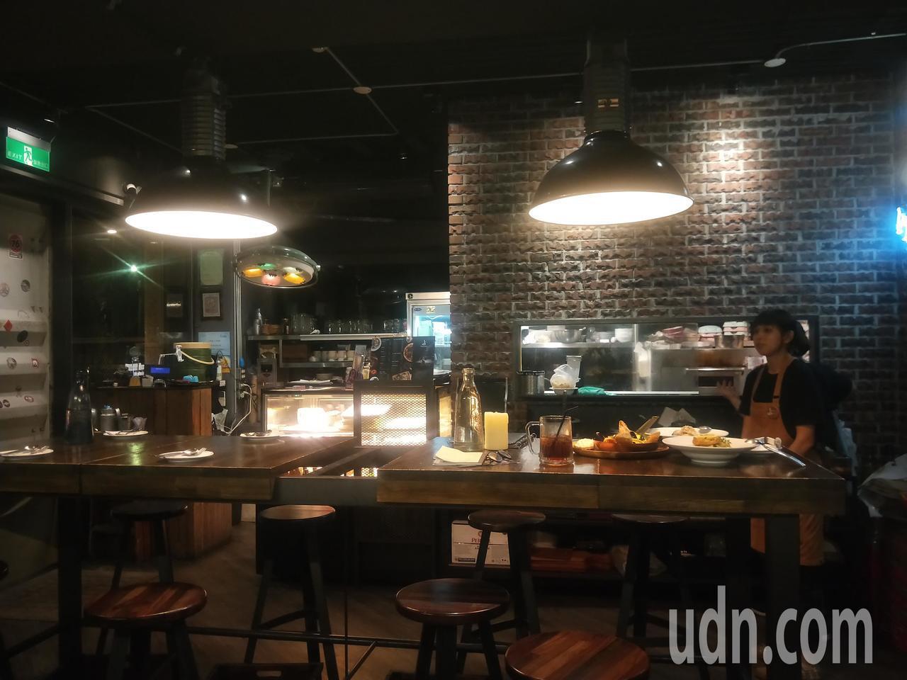 苗圃義大利餐廳Vivaio Pasta店內裝潢很復古。記者游明煌/攝影