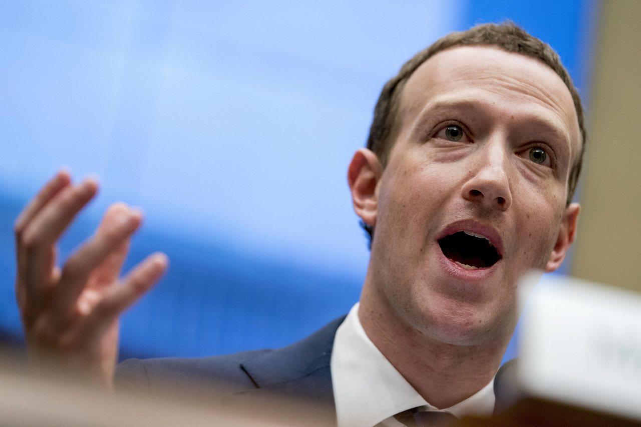 臉書創辦人祖克柏反對民主黨總統參選人大幅加徵富人稅的主張。美聯社