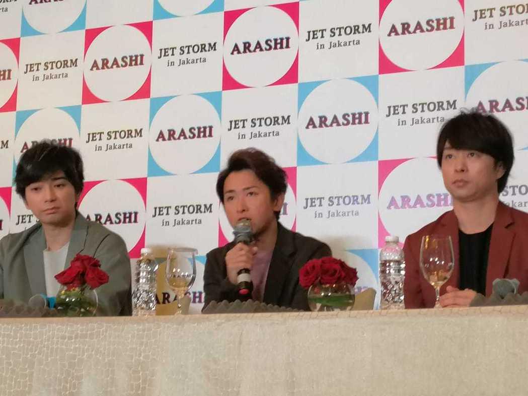 大野智對粉絲的日文能力印象深刻。圖/摘自微博