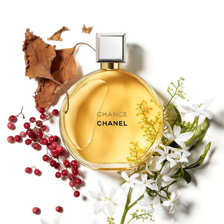 香奈兒CHANCE經典香氛。圖/香奈兒提供