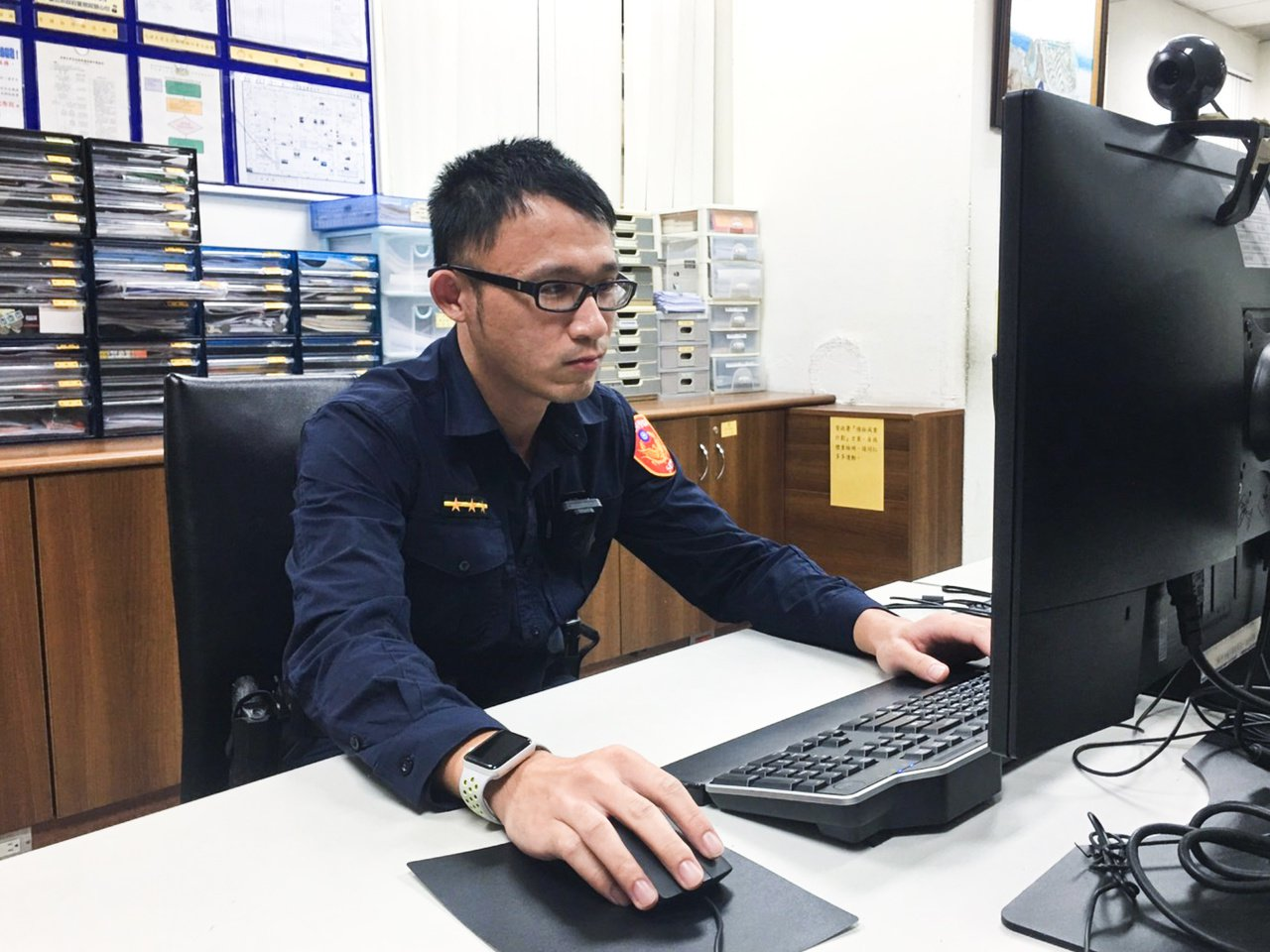 林庭緯說,自己也曾在出國旅遊時不小心弄丟重要物品,知道旅客心急的心情,每次接獲協...