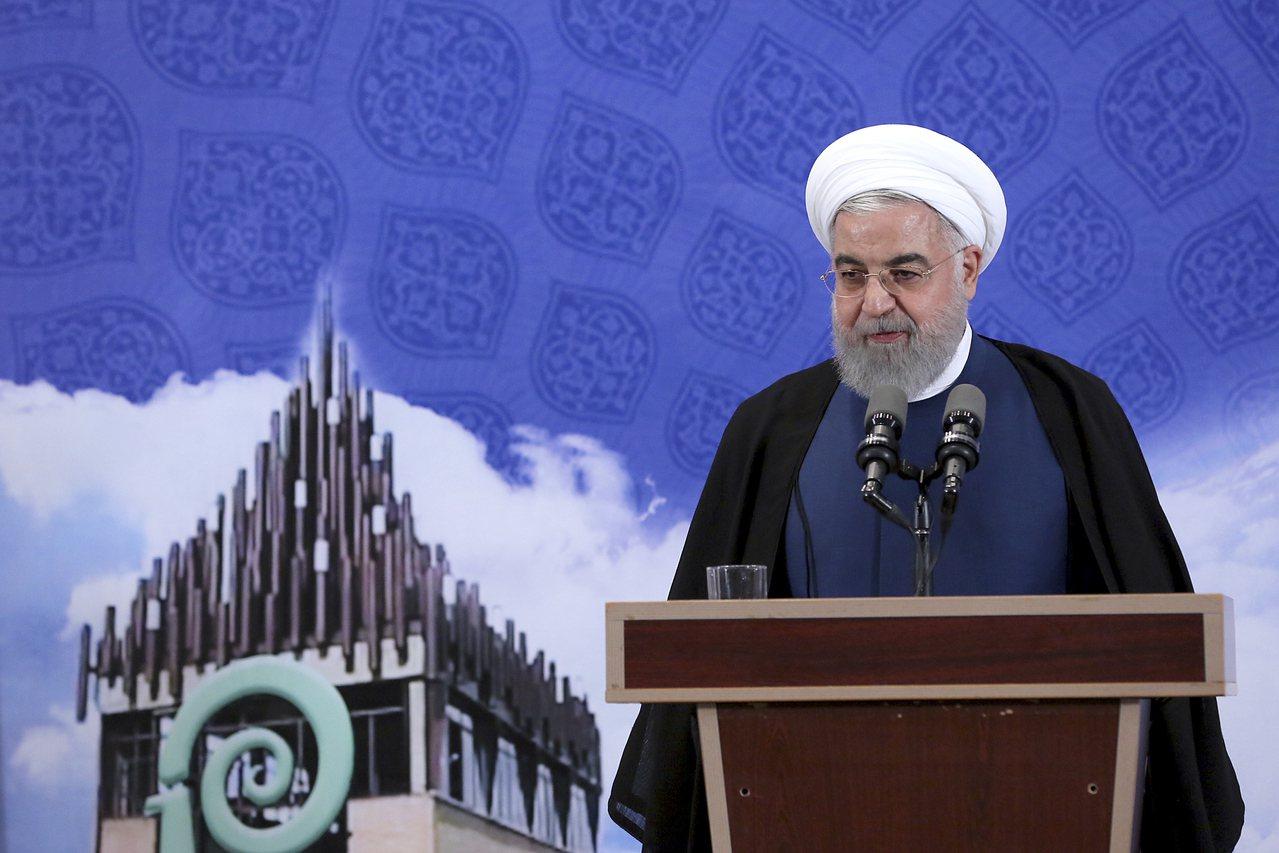 伊朗總統羅哈尼。美聯社