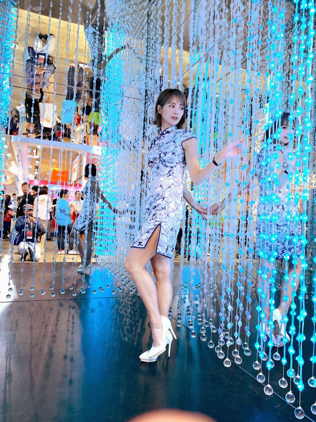 阿喜出席台北國際旅展造勢台北館活動。圖/天晴娛樂提供