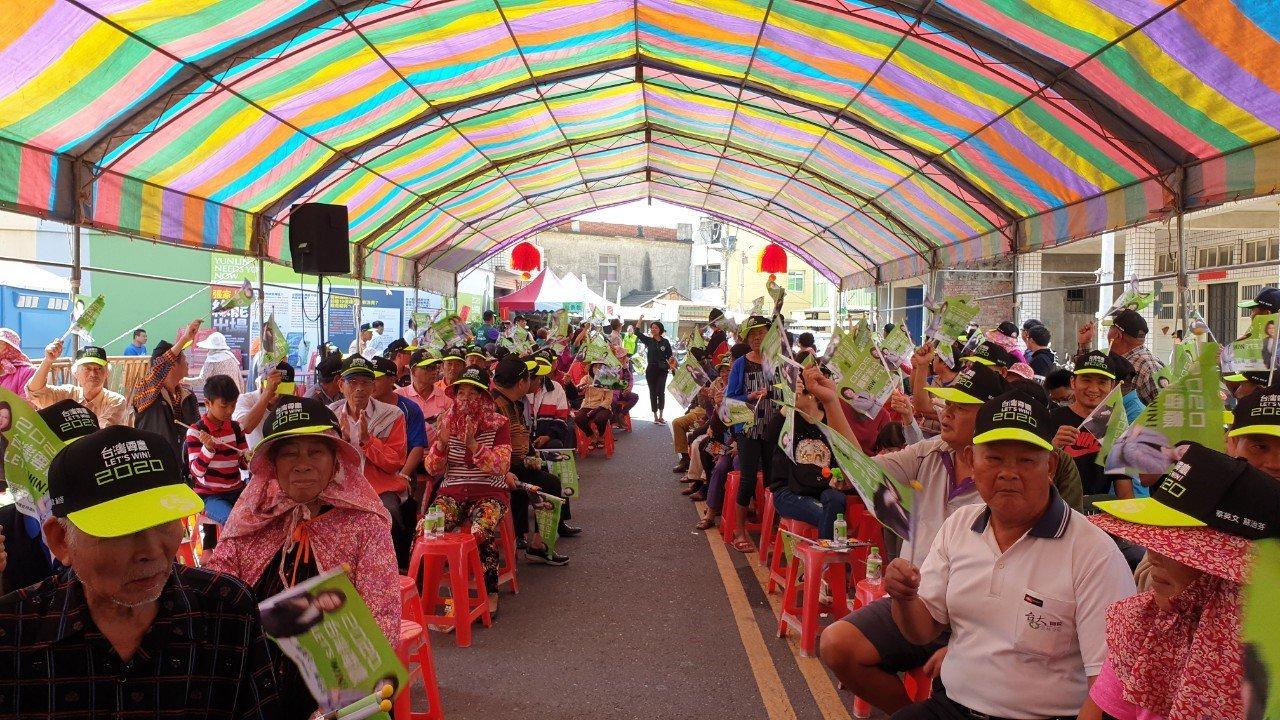 民進黨海線立委蘇治芬力拼連任,今天在台西、元長成立競選總部。圖/蘇治芬團隊提供