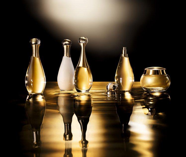 迪奧的J'adore系列,推出三款新品,沐浴精油200ml1,700元、潤澤身體...