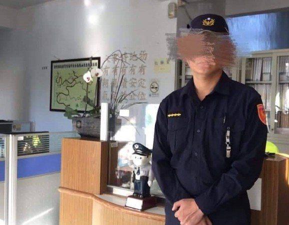 新竹縣警局一位王姓警員3月以柔道將外遇對象彭女摔在地上,造成彭女有右腳韌帶撕裂性骨折、頸部挫傷,彭女事後控告王男傷害罪。圖/翻攝新竹爆料公社