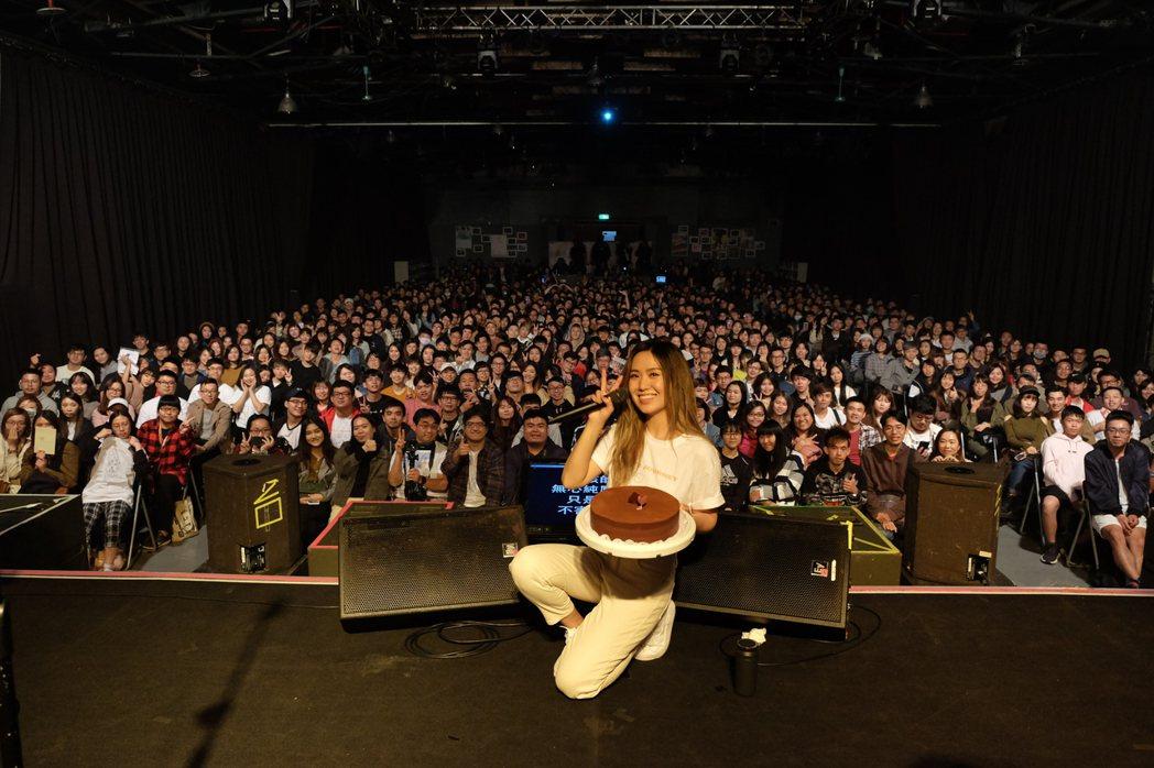 孫盛希10日舉行台灣第2場巡演。圖/滾石音樂提供