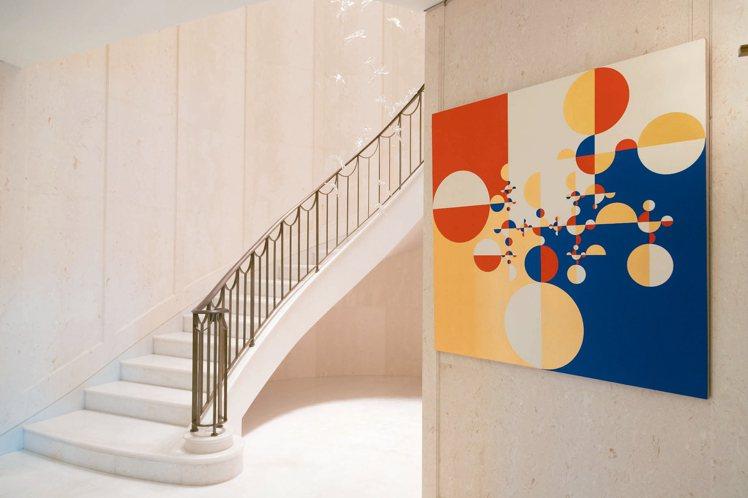 墨西哥藝術家Gabriel Orozco的畫作《Samurai Tree》。 記...
