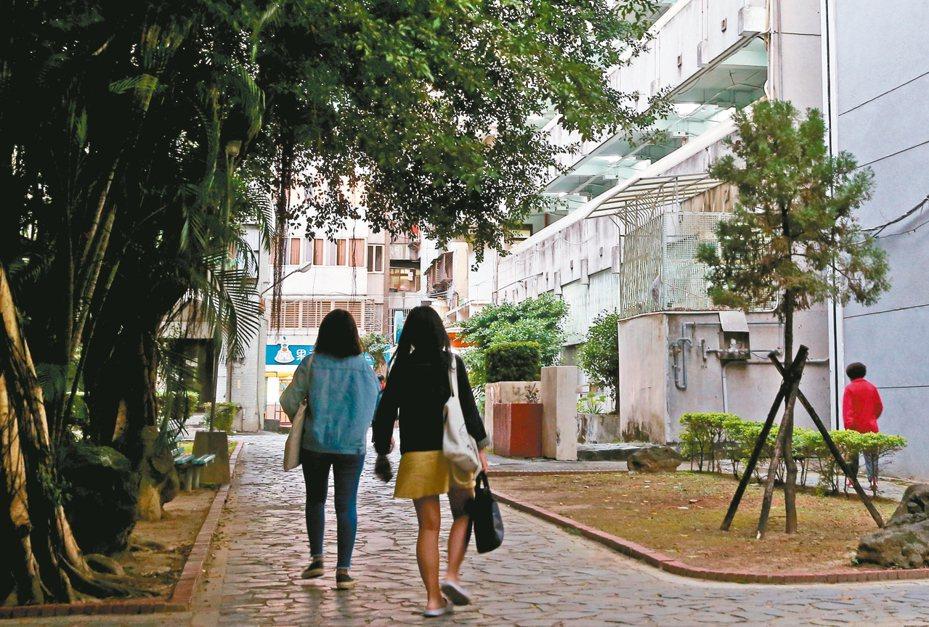 圖為台北大學。 報系資料照/記者余承翰攝影