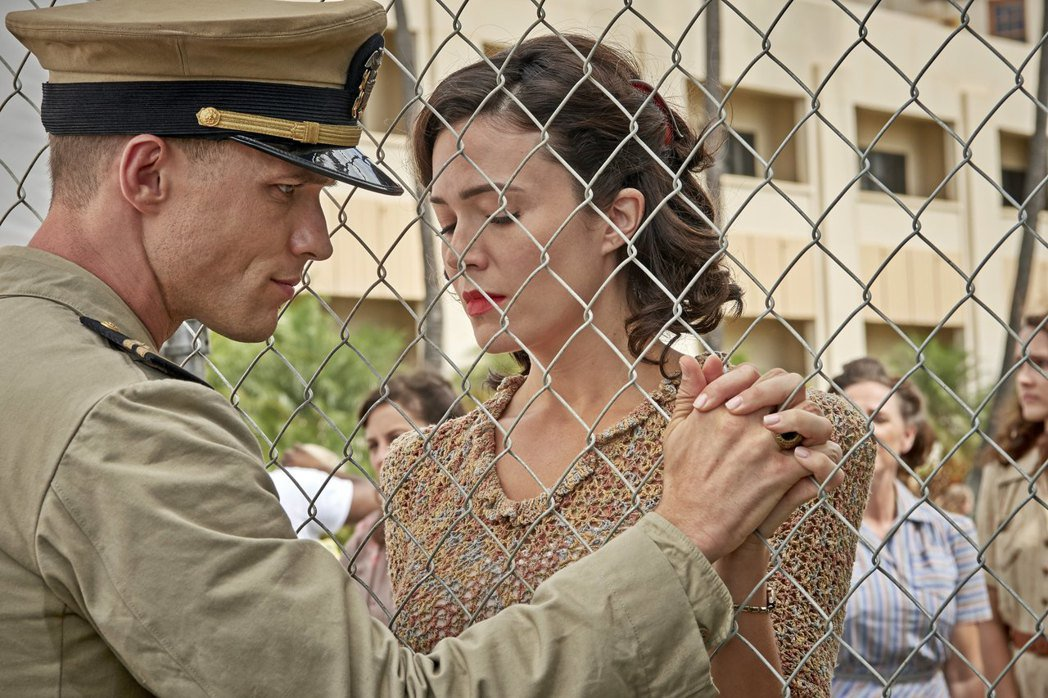 電影「決戰中途島」上映,使得77年前這場大戰再度成為焦點。圖為劇中人物。 圖/双...