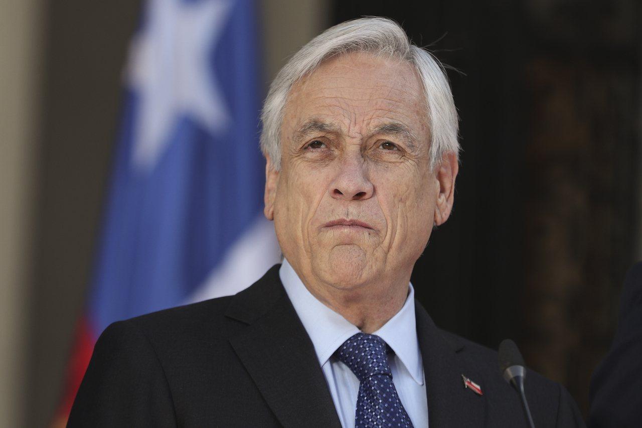 智利總統皮內拉在10月30日突然宣布停辦今年APEC峰會與聯合國氣候大會。(美聯...