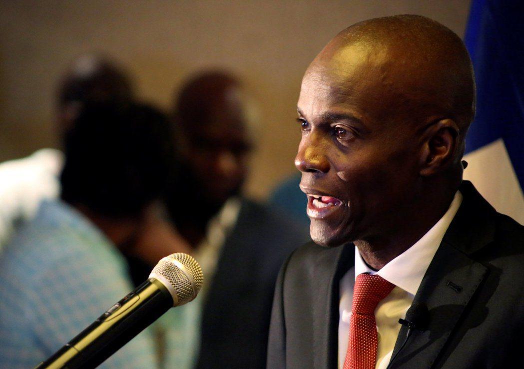 海地總統摩依士。(路透)