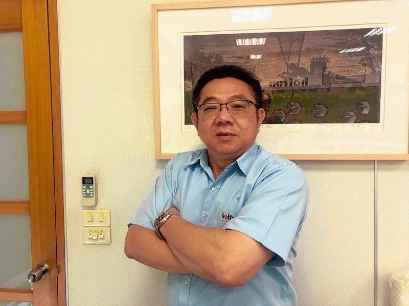 恒耀董事長吳榮彬。