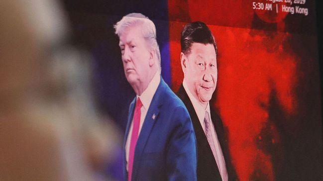 華爾街日報分析,美中貿易關係依然是混沌而不透明,市場不應過度樂觀。圖/美聯社