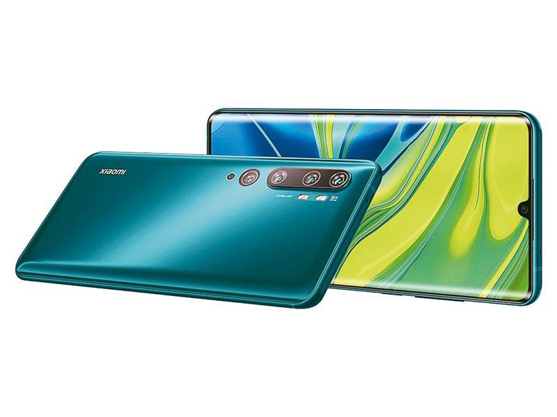 聯發科2020年5G晶片營運動能大爆發。小米將於明年推出逾10款5G手機。 圖/小米提供