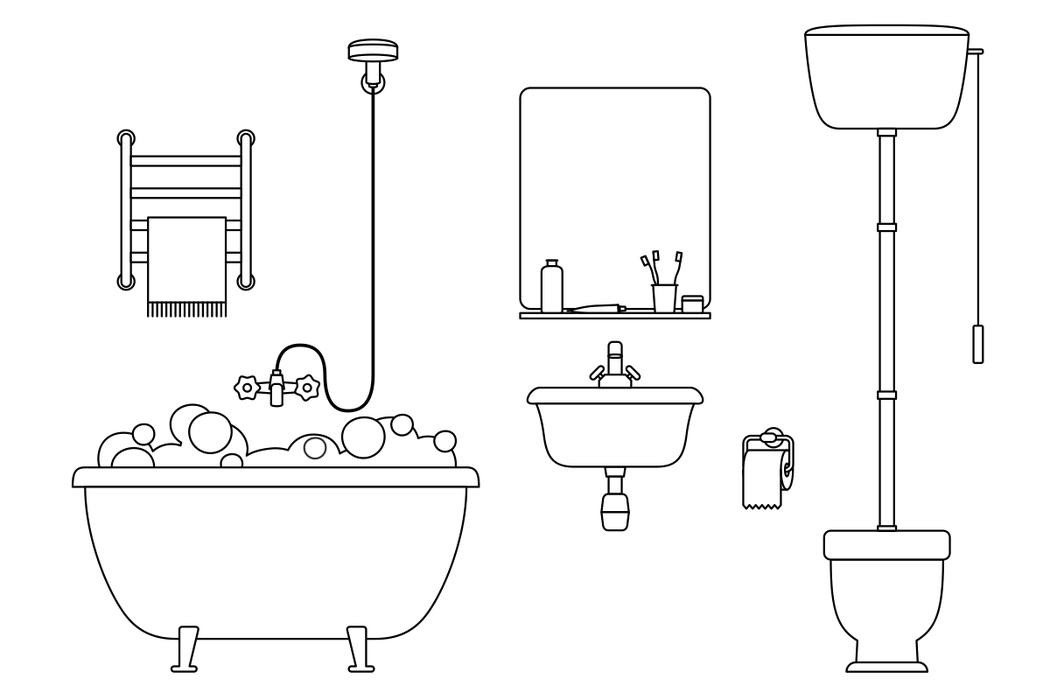 搶在所有家人之前第一個洗澡是非常危險的。 圖/ingimage