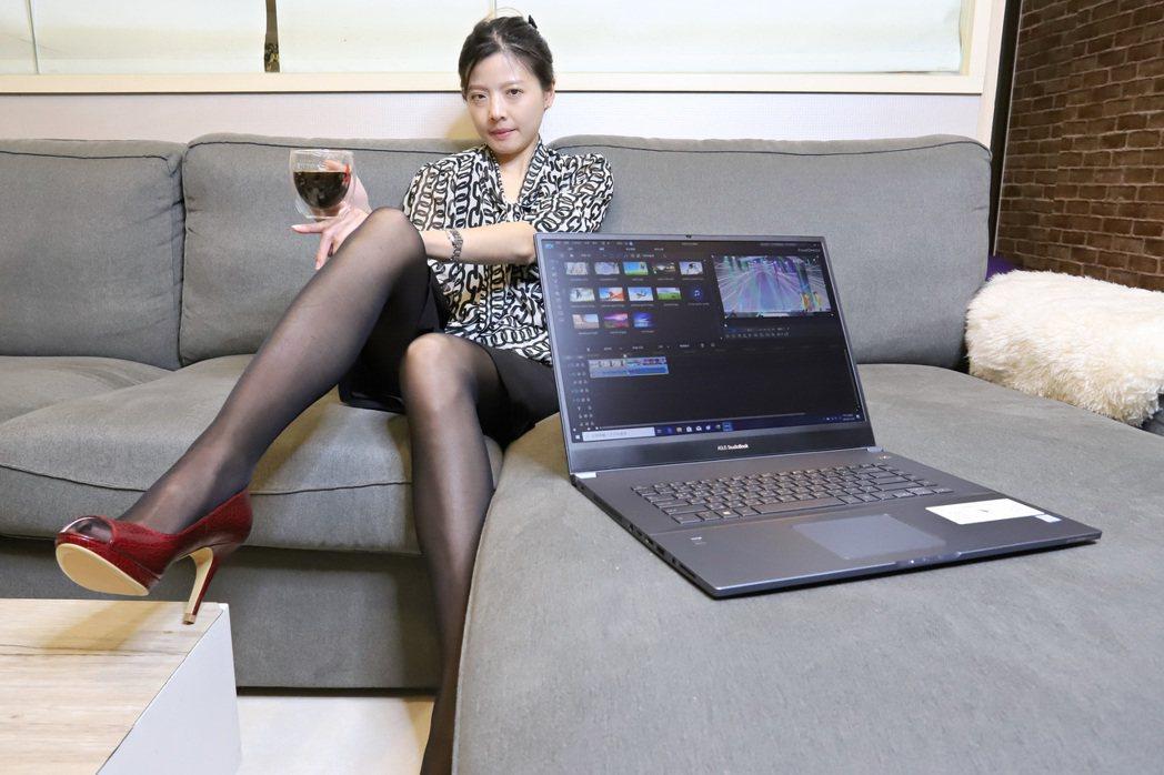 ProArt StudioBook Pro 17採16:10螢幕設定。 彭子豪/...