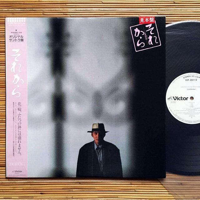 1985年日本勝利唱片發行梅林茂作曲、森田芳光執導的《其後》電影配樂黑膠專輯。 圖/作者提供