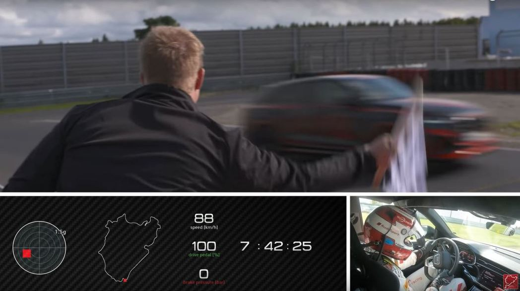 截自Nürburgring影片