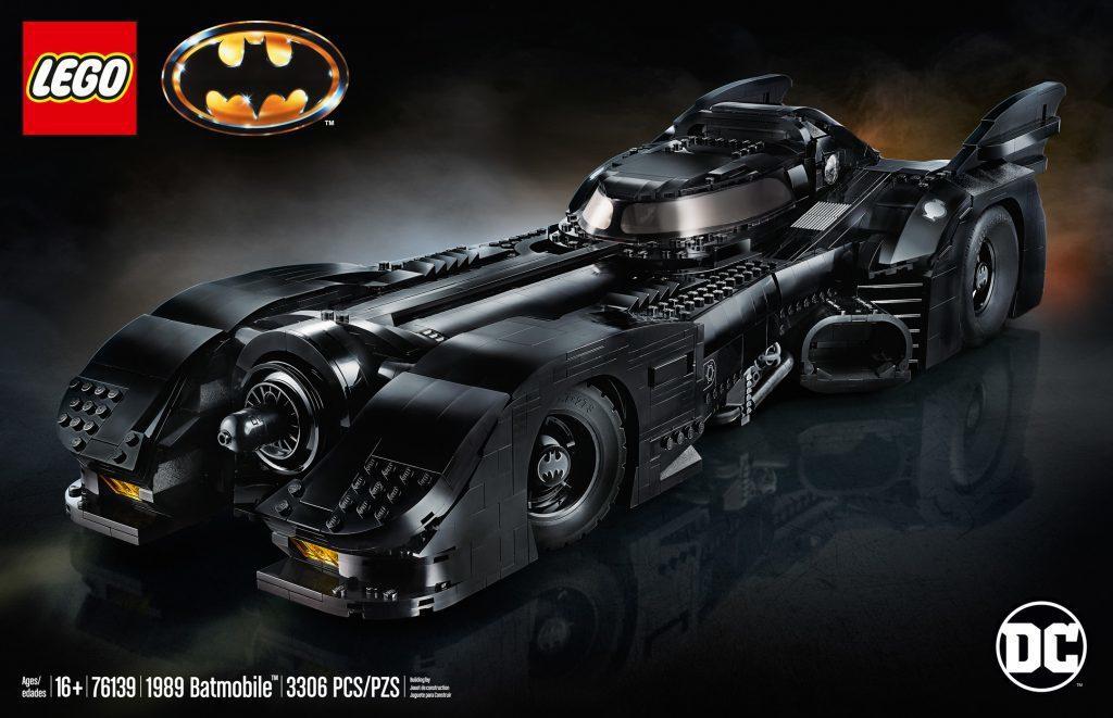 樂高1989蝙蝠俠電影蝙蝠車。 圖/LEGO提供