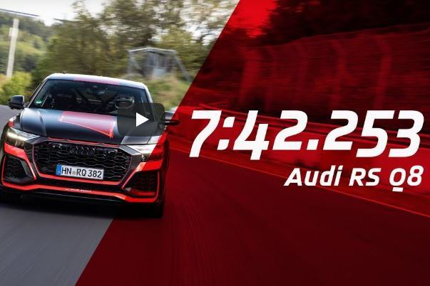 影/Audi RS Q8刷新SUV紐柏林最快圈速 甚至比Civic Type R還快!