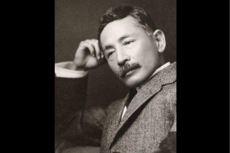 夏目漱石。 圖/維基共享