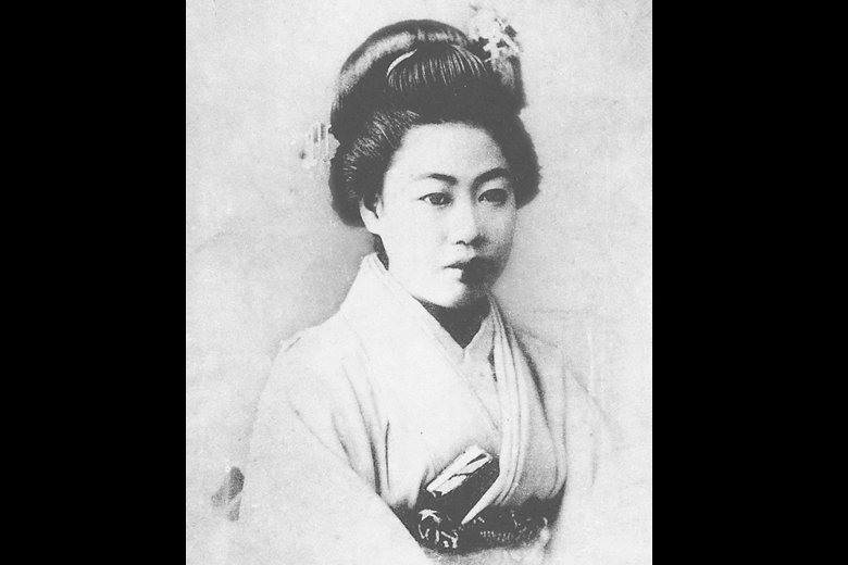 夏目漱石之妻。 圖/維基共享