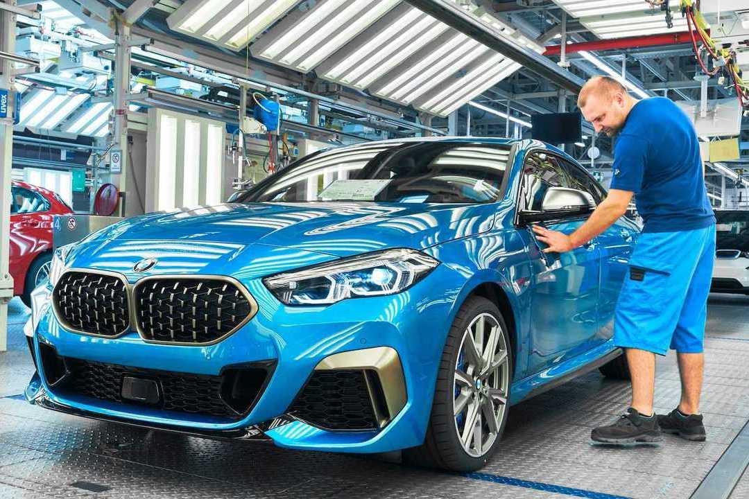 德國原裝BMW 2 Series Gran Coupe正式投入生產!