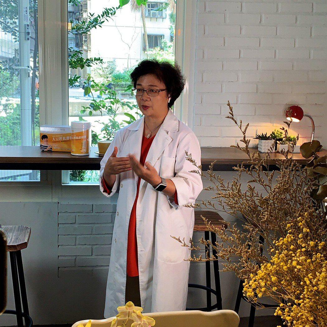 台北郵政醫院營養師黃淑惠。大侑健康/提供
