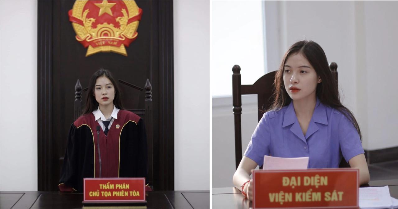 這名來自越南的空靈系美女法官於網路上爆紅,她身穿一襲法官袍,再搭配上空靈的氣質,...