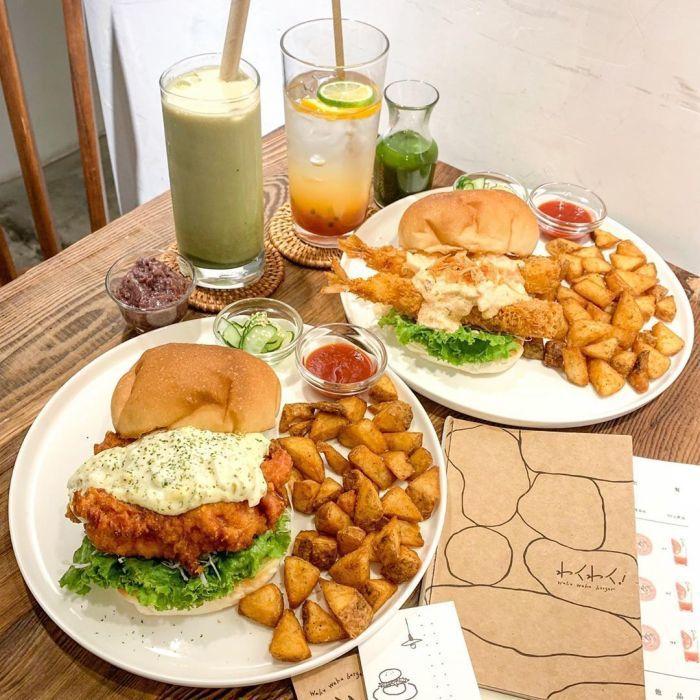 Waku waku burger。 圖/IG,rainfish0515