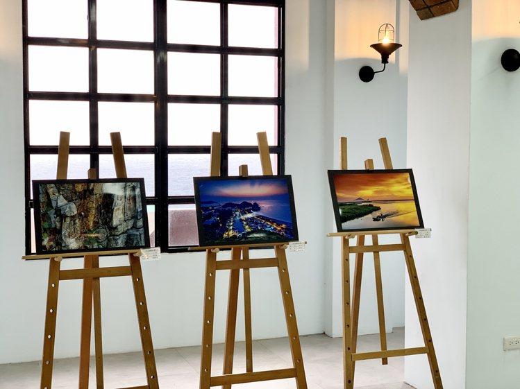 聽濤營區攝影展。記者張芳瑜/攝影