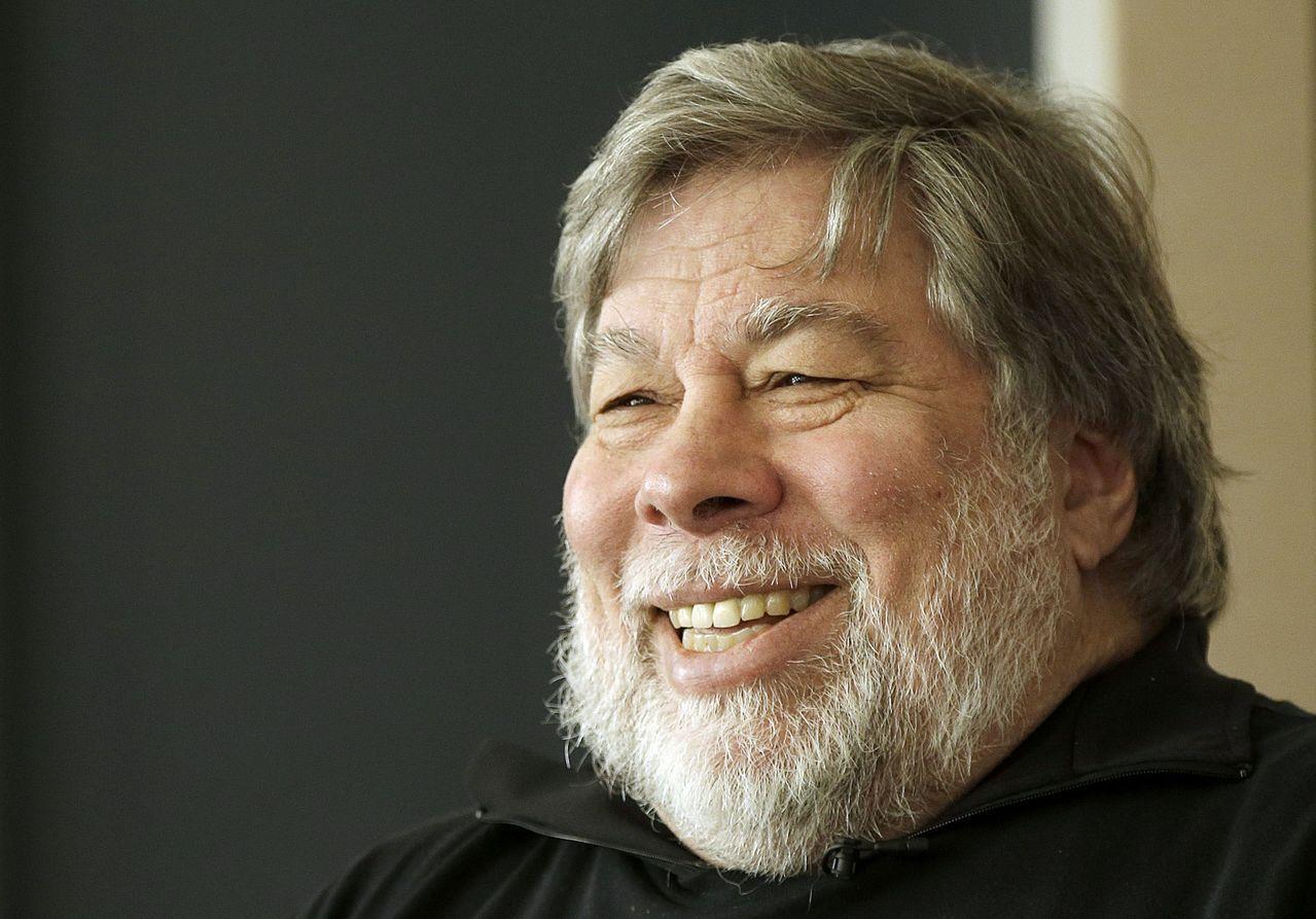 蘋果共同創辦人沃茲尼克(Steve Wozniak)。美聯社