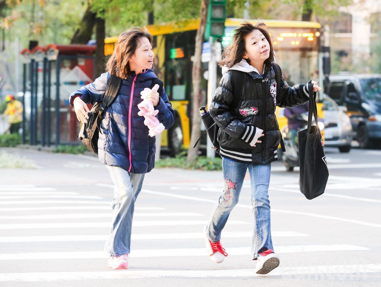 中央氣象局說,今天新竹以北多為入秋以來最低溫。本報資料照片