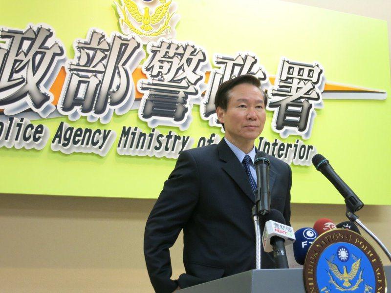 圖為耿繼文任警政署督察室主任時照片。 聯合報系資料照
