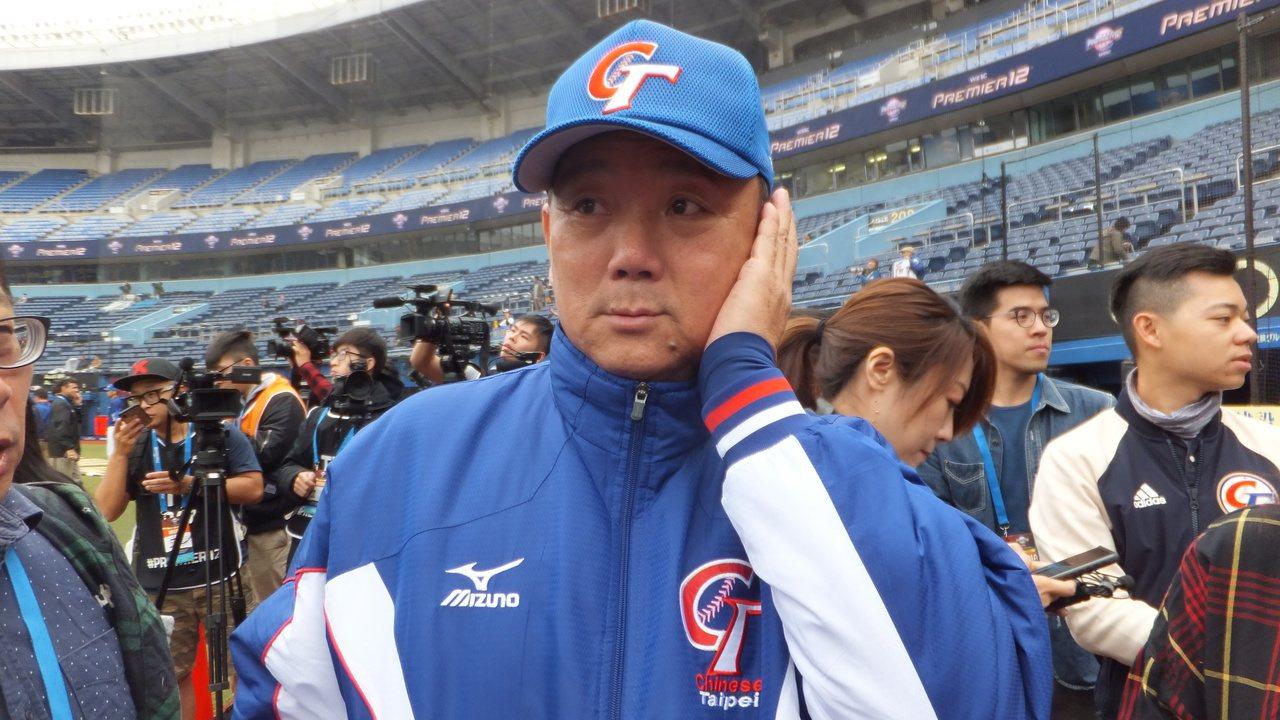 中華隊總教練洪一中表示,12強賽沒有誰穩贏穩輸,主要是看臨場表現。記者藍宗標/攝...