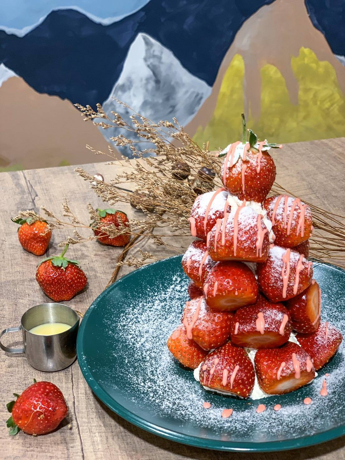 Meat Up莓辦法草莓塔,售價540元。圖/Meat Up提供