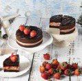 草莓季來了!15cm草莓塔、黑嘉侖草莓巧克力蛋糕吃一波