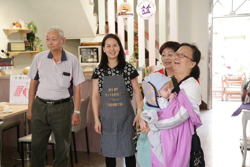 森呼吸生活館為家庭照顧者提供喘息空間,減輕生活壓力。圖/嘉義縣政府提供