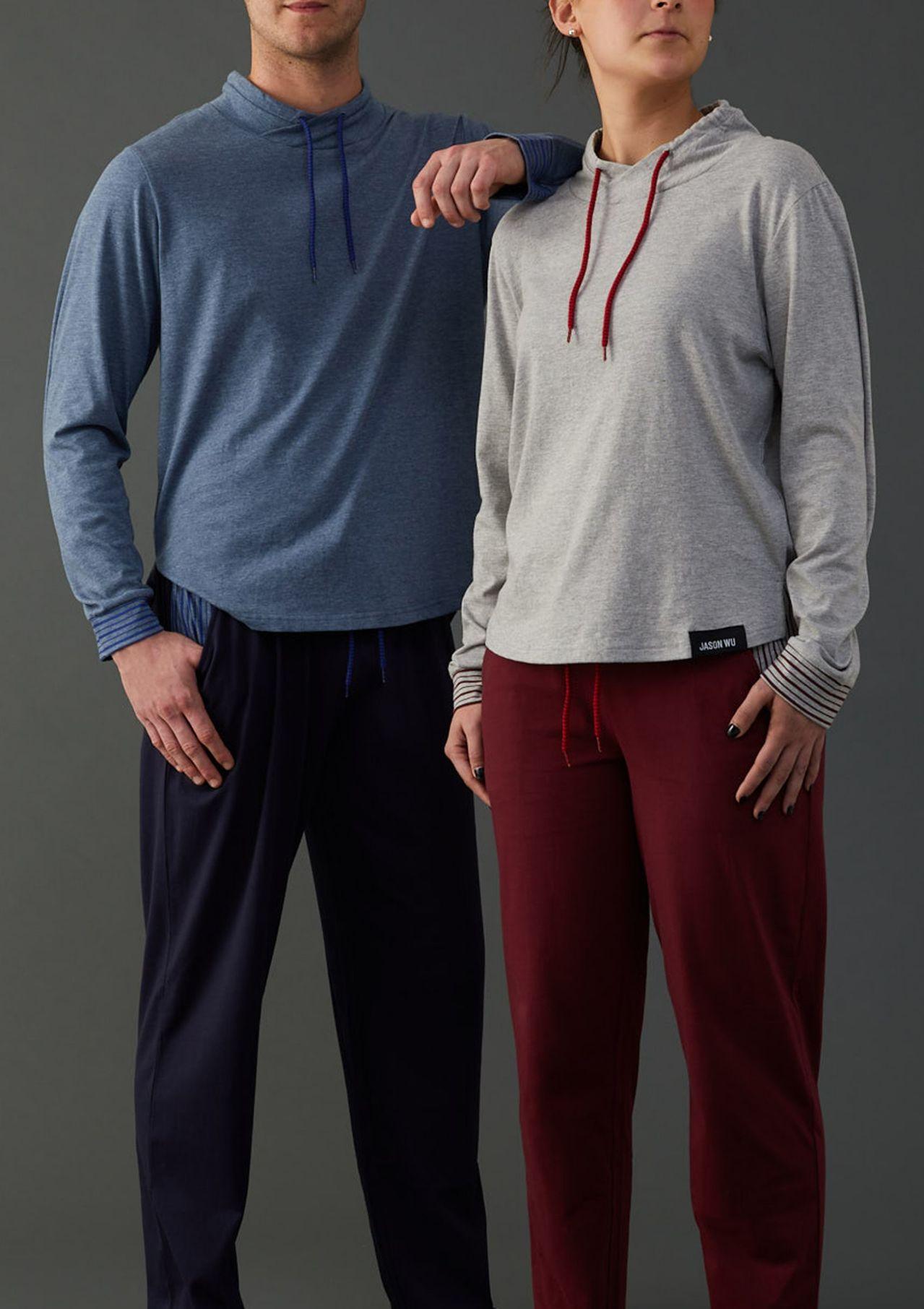 長榮航空與國際知名設計師吳季剛(Jason Wu)合作的機上睡衣,明年將推出第二...