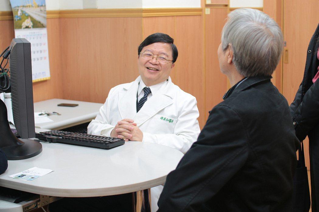 花蓮慈濟醫院名譽院長陳英和,自願來到醫療資源貧脊的花蓮,守護花東民眾的健康。圖/...