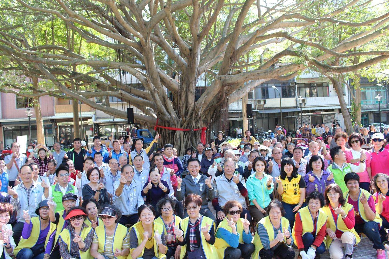 新竹市長和公園的榕樹是地方重要意象。記者張雅婷/攝影