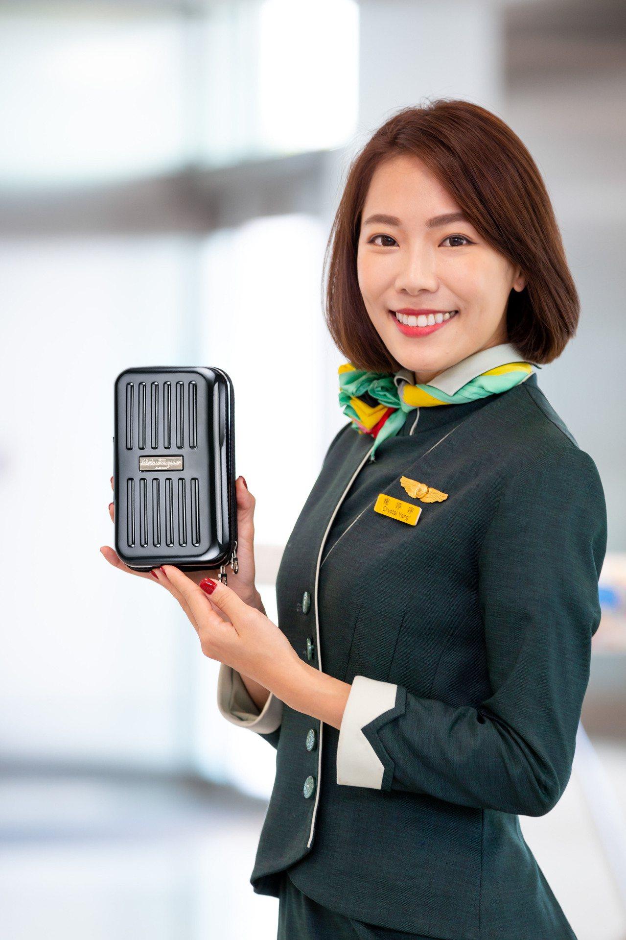 長榮航空宣布機上服務用品大改款。圖/長榮航空提供