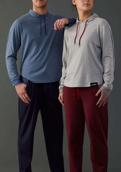 吳季剛設計聯名時尚舒眠睡衣推出第二代。圖/長榮航空提供