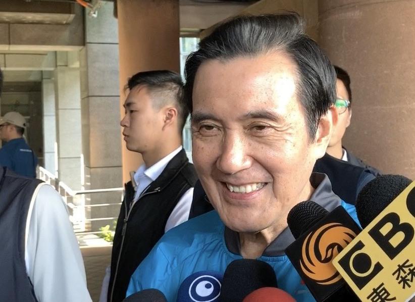韓國瑜宣布張善政為副手,馬英九表示「可以幫韓市長加分」。記者張曼蘋/攝影