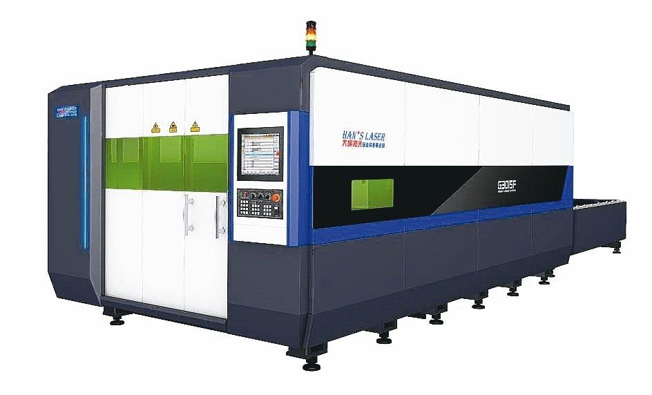 G3015F光纖激光切割機具有高效能、低耗能、體積小等特性。 業者/提供
