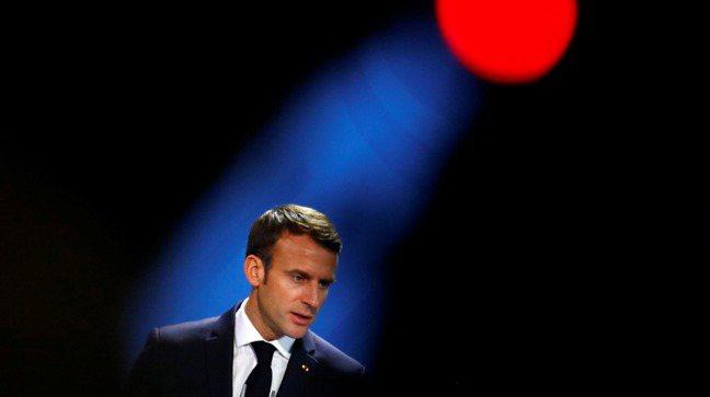 法國總統馬克宏(Emmanuel Macron)。路透社