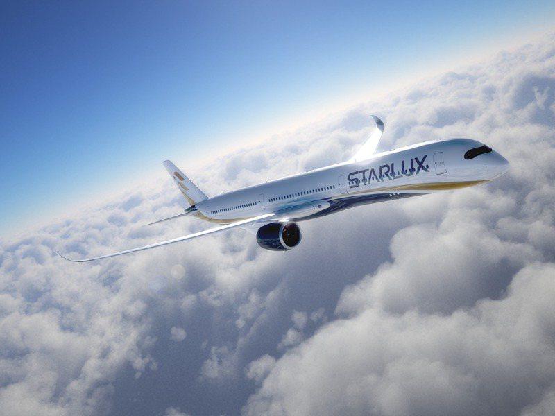星宇航空預計購進的空中巴士A350-1000廣體客機。圖/星宇航空提供