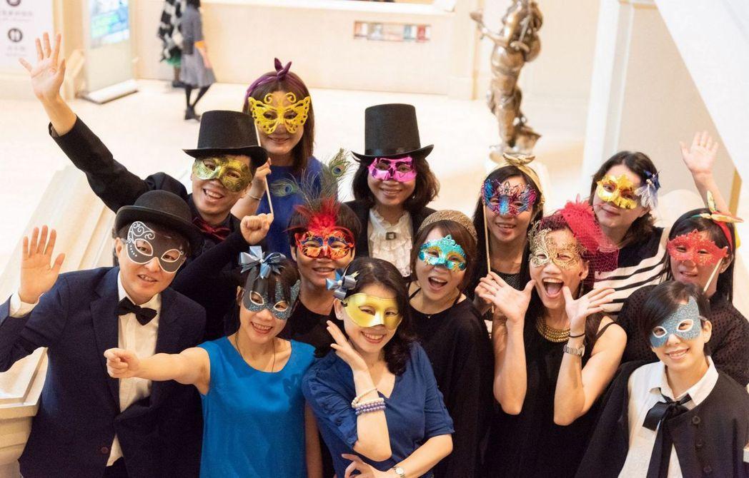 奇美博物館「聖誕周末-化裝舞會」邀請民眾一起來玩。  奇美館 提供